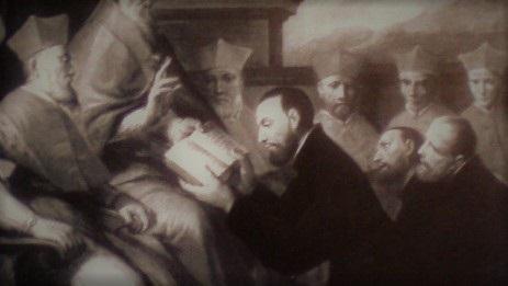 Papa Clemente VII aprueba la Regla de la Orden Teatina (Museo del Prado)